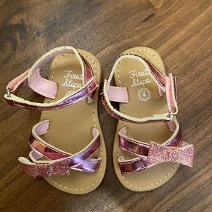 First Step Size 4 Sandals